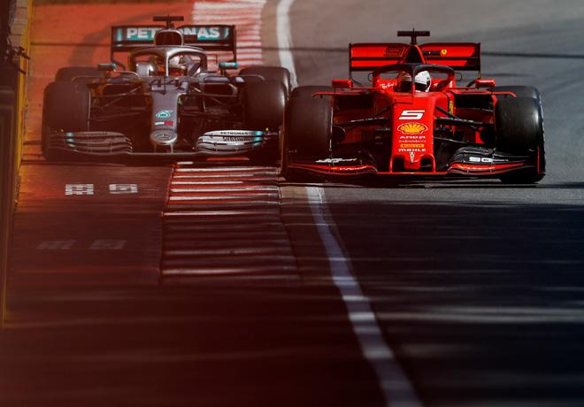 F1 - Canada 2019 - Carrera - La maniobra polemica entre Lewis Hamilton y Sebastian Vettel
