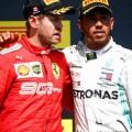 F1 - Canada 2019 - Carrera - Sebastian Vettel y Lewis Hamilton en el Podio