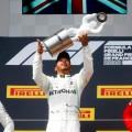 F1 - Francia 2019 - Carrera - Valtteri Bottas - Lewis Hamilton - Charles Leclerc en el Podio