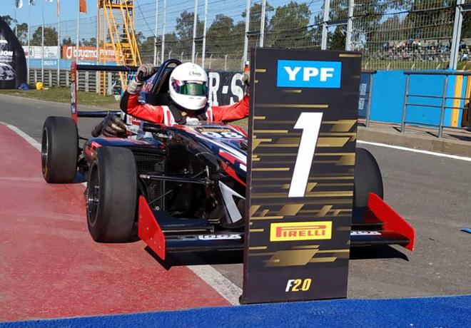 FR20 - Rosario 2019 - Carrera 2 - Esteban Fernandez - Tito-Renault