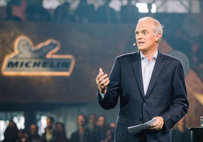 Florent Menegaux - Director Ejecutivo del Grupo Michelin