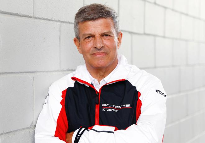 Fritz Enzinger - Vicepresidente de Porsche Motorsport