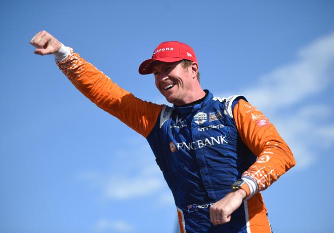 IndyCar - Detroit 2019 - Carrera 2 - Scott Dixon en el Podio