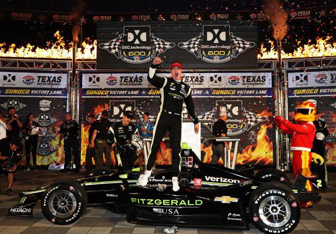 IndyCar - Texas 2019 - Carrera - Josef Newgarden en el Victory Lane