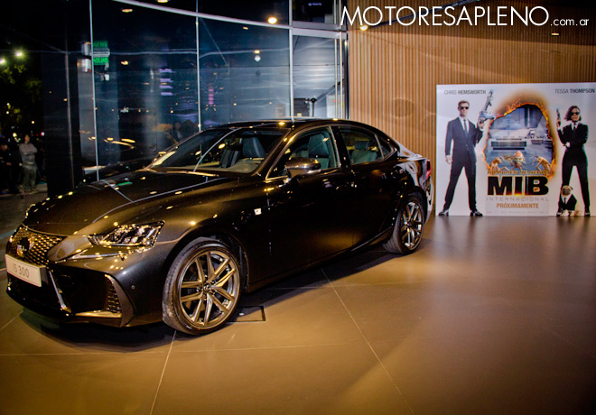 Lexus protagonista en Men in Black International 1