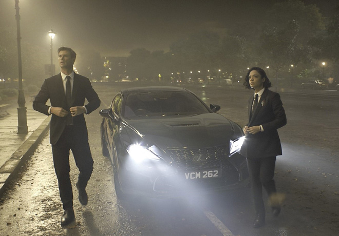 Lexus protagonista en Men in Black International 3
