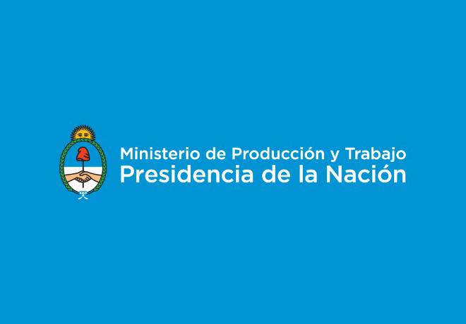 Logo Ministerio de Produccion 2019