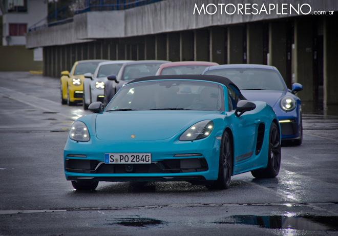 Michelin - El maximo rendimiento de los neumaticos en el Porsche World Roadshow 2019 1