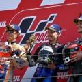 MotoGP - Assen 2019 - Marc Marquez - Maverick Vinales - Fabio Quartararo en el Podio
