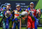 MotoGP - Catalunya 2019 - Fabio Quartararo - Marc Marquez - Danilo Petrucci en el Podio