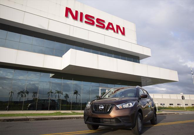 Nissan Kicks alcanza las 100 mil unidades fabricadas en el Complejo Industrial de Resende - Brasil