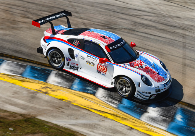 Porsche 911 RSR - Brumos Racing