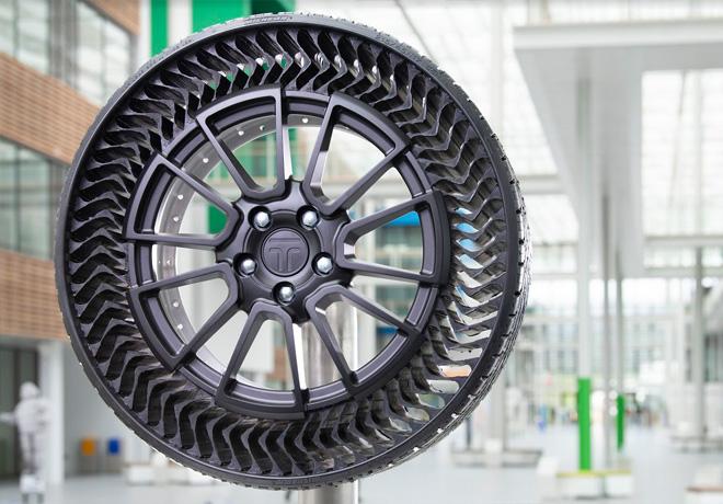 Prototipo Michelin UPTIS