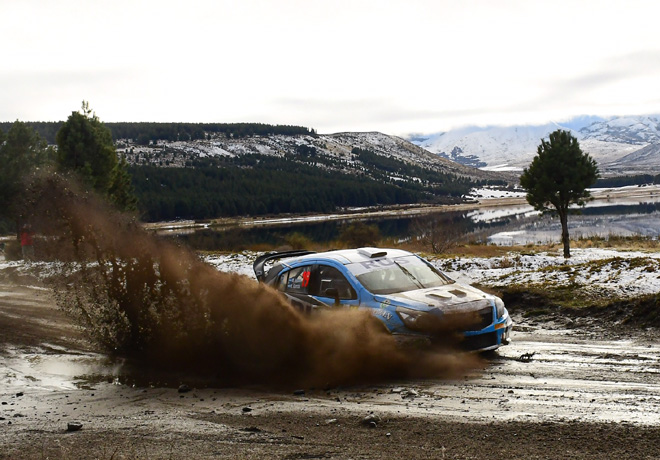 Rally Argentino - Esquel 2019 - Etapa 1 - Marcos Ligato - Chevrolet Agile MR