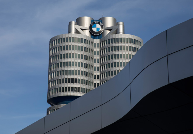 Sede central de BMW en Munich