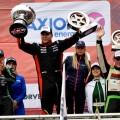 TC - Termas de Rio Hondo 2019 - Carrera - Juan Manuel Silva - Valentin Aguirre - Santiago Mangoni en el Podio