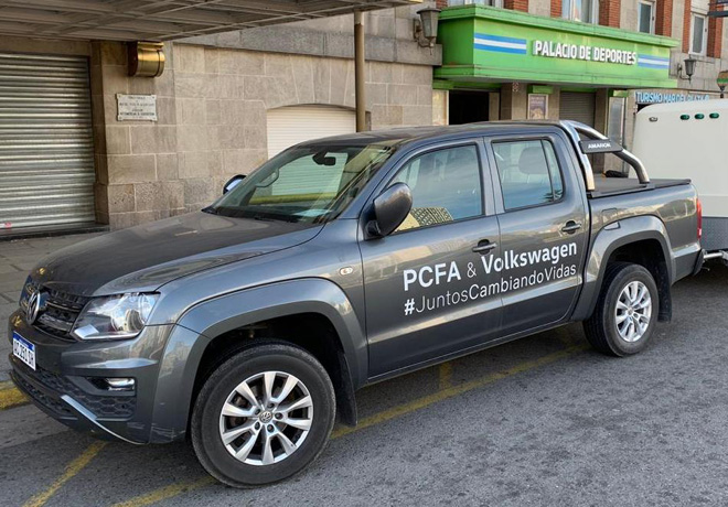 Volkswagen Group Argentina junto a Powerchair Football Argentina