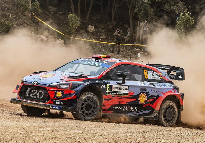 WRC en Cerdeña – Día 1: Dani Sordo lidera el Rally de Italia.