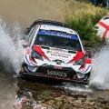 WRC - Italia 2019 - Dia 2 - Ott Tanak - Toyota Yaris WRC