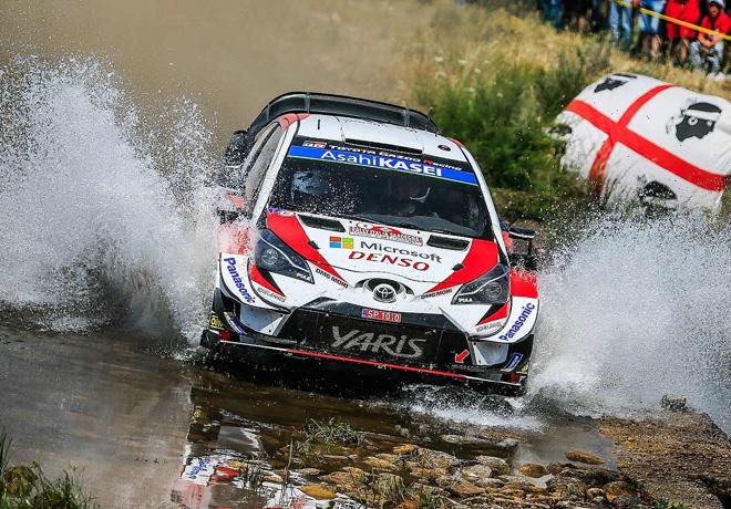 WRC en Cerdeña – Día 2: Tänak disfrutó de una jornada perfecta.