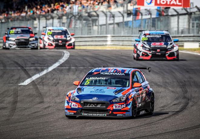 WTCR - Nurburgring - Alemania 2019 - Carrera 1 - Norbert Michelisz - Hyundai i30 N TCR