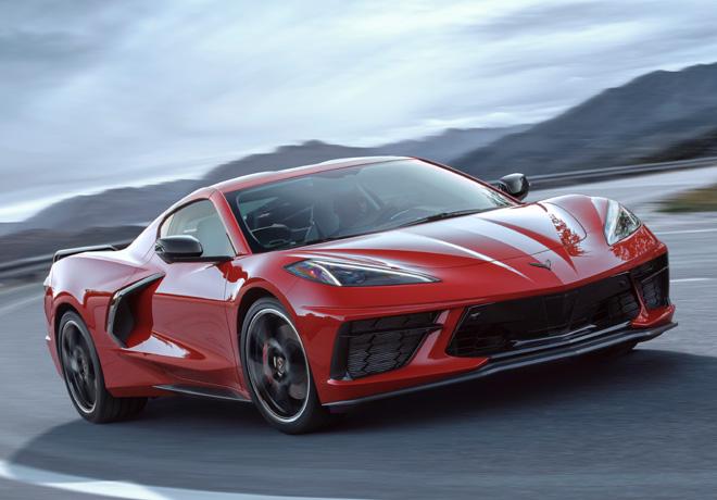 Chevrolet presenta el Stingray 2020, el primer Corvette más potente y veloz de la historia, motor central.