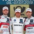 DTM - Norisring 2019 - Carrera 2 - Jamie Green - Bruno Spengler - Mike Rockenfeller en el Podio