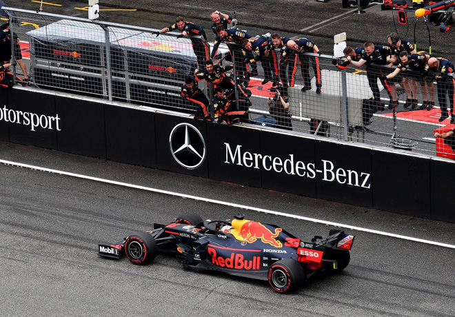 F1 - Alemania 2019 - Carrera - Max Verstappen - Red Bull