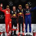 F1 - Alemania 2019 - Carrera - Sebastian Vettel - Max Verstappen - Daniil Kvyat en el Podio