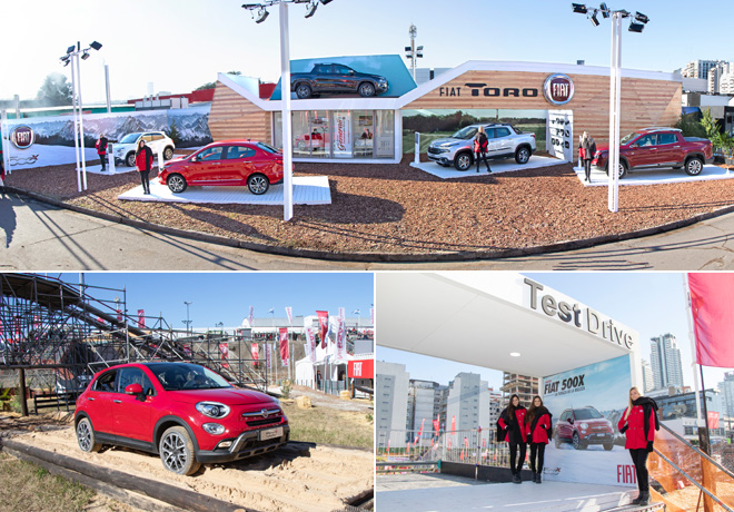 Fiat tendrá presencia en la 133ª Exposición Internacional de Ganadería, Agricultura e Industria.