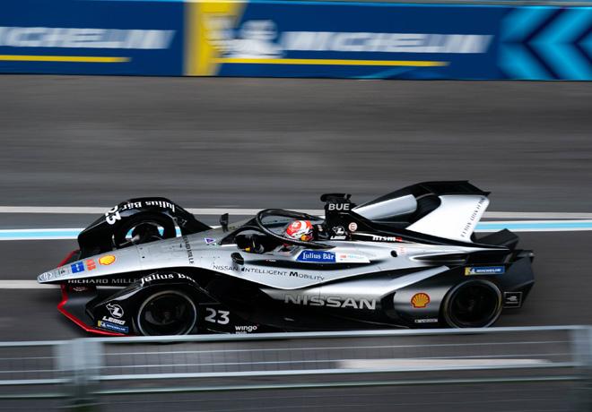 Formula E - Nueva York 2019 - Carrera 1 - Sebastien Buemi - Nissan eDams