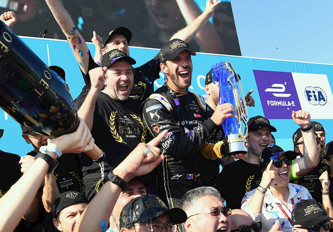 Formula E - Nueva York 2019 - Carrera 2 - Jean-Eric Vergne Campeon