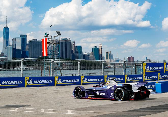 Formula E - Nueva York 2019 - Carrera 2 - Robin Frijns - Envision Virgin Racing