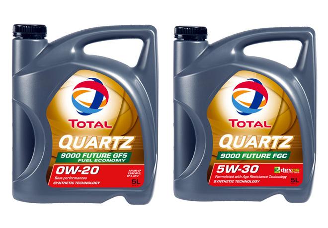Gama de lubricantes Totoal Quartz incorpora dos nuevos productos de tecnologia sintetica