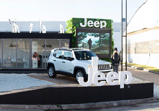 Jeep estara presente en La Rural