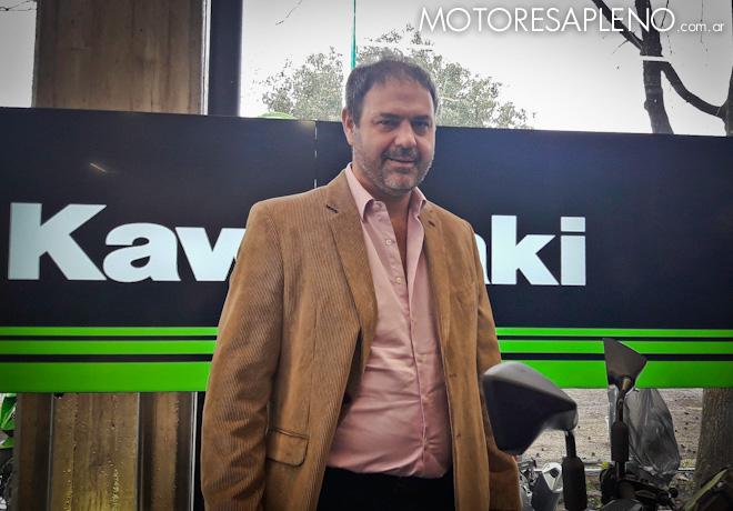 Kawasaki presento nuevos modelos de motocicletas - Leandro Iraola - Presidente de Grupo Iraola