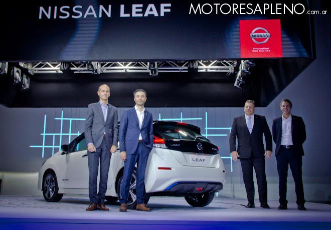 La movilidad del futuro llego a Argentina con el nuevo Nissan Leaf