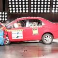 Latin NCAP - Toyota Etios - con 2 Airbags