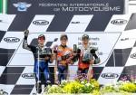 MotoGP - Sachsenring 2019 - Maverick Vinales - Marc Marquez - Cal Crutchlow en el Podio
