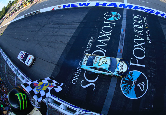 NASCAR - New Hampshire 2019 - Kevin Harvick - Ford Mustang