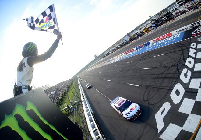 NASCAR - Pocono 2019 - Denny Hamlin - Toyota Camry