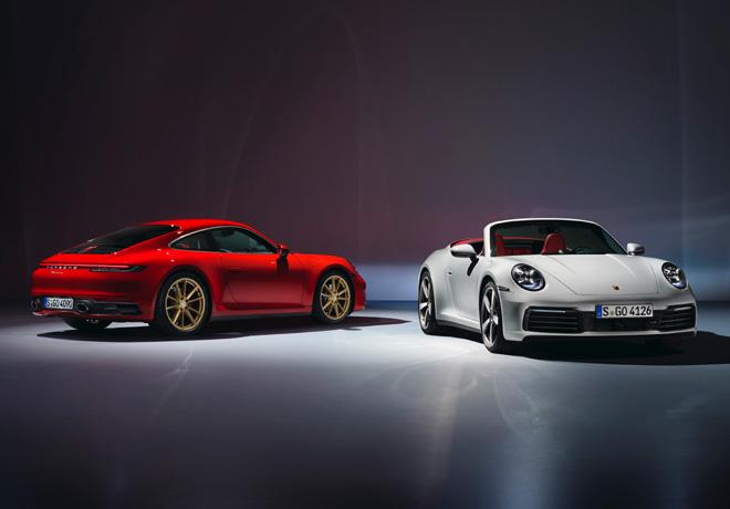 Porsche 911 Carrera Coupe y 911 Carrera Cabriolet