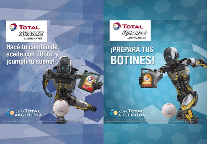 Promo TOTAL en la previa de una semifinal de la Copa TOTAL Argentina