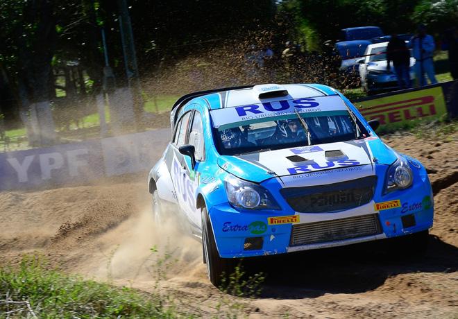 Rally Argentino - Goya 2019 - Etapa 1 - Marcos Ligato - Chevrolet Agile MR