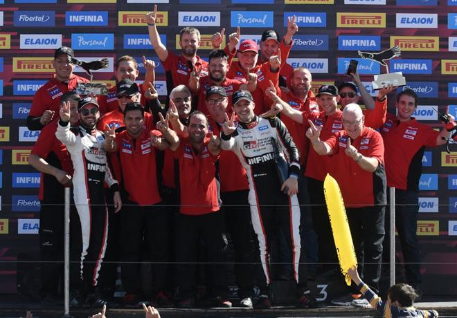STC2000 - Salta 2019 - Carrera - Julian Santero - Matias Rossi y el equipo Toyota en el Podio