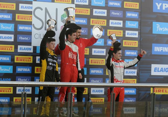 TC2000 - San Nicolas 2019 - Carrera Final - Nicolas Moscardini - Juan Jose Garriz - Ingnacio Julian en el Podio