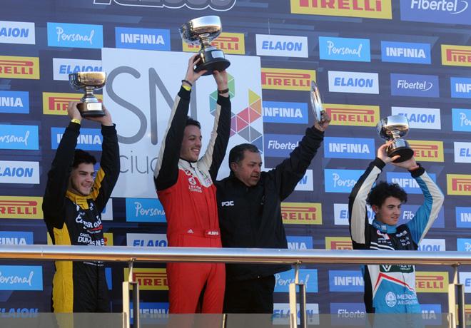 TC2000 - San Nicolas 2019 - Carrera Sprint - Rodrigo Lugon - Jose Manuel Sapag - Lucas Vicino en el Podio