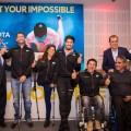 Toyota Argentina presento a su equipo de atletas olimpicos y paralimpicos en el camino a Tokio 2020