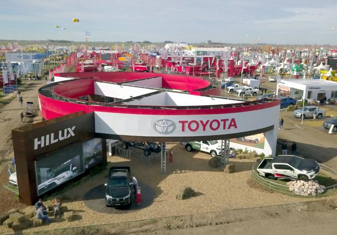 Toyota en Expoagro 2019 1