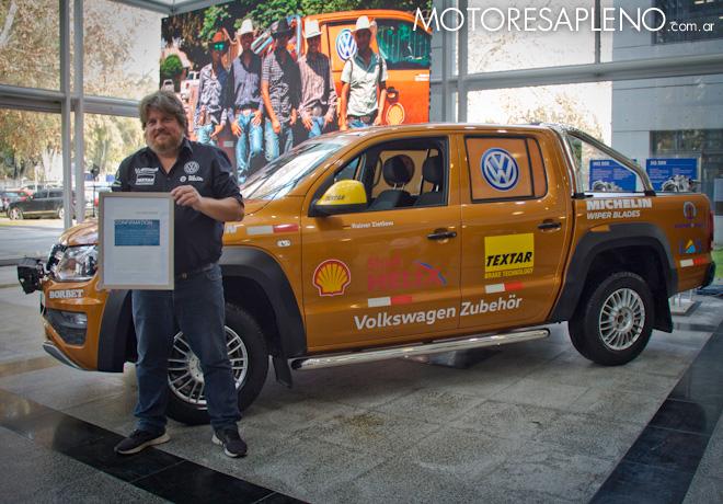 VW Amarok bate el record mundial en la autopista Panamericana 2